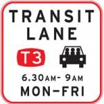 transit-lane-sign